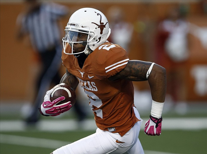 Longhorn Football: the Wide Receivers in 2014 - Hook'em ...