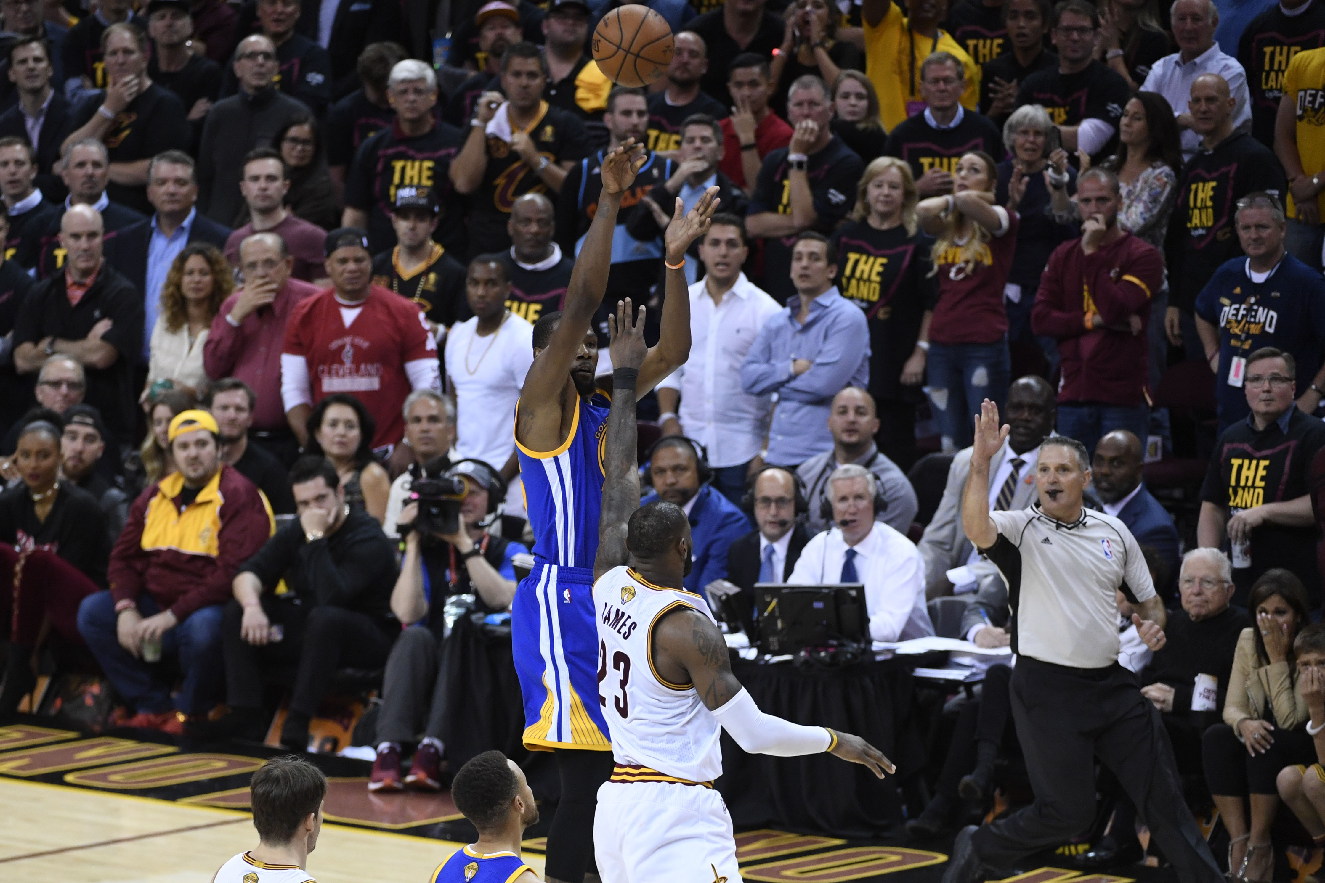 NBA Finals: Kevin Durant calls back to Texas days in epic Game 3